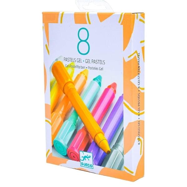 set de Colorat – 8 culori Cu Gel Pastel Sweet-5