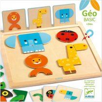 Joc puzzle magnetic bebelusi - Geo Basic
