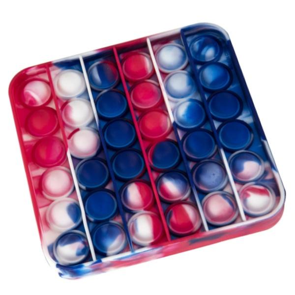 Jucărie POP-IT Multicolor Pătrat