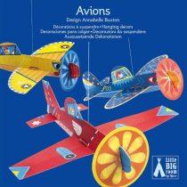 Avioane Suspendate - Decoratie Camera Copilului