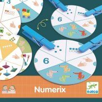 Djeco Numerix Joc Cu Numere Pentru Copii
