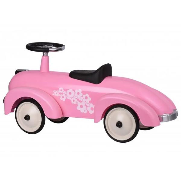 Masina Exterior Retro Roz Pentru Fete (2)