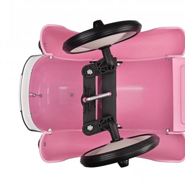 Masina Exterior Retro Roz Pentru Fete