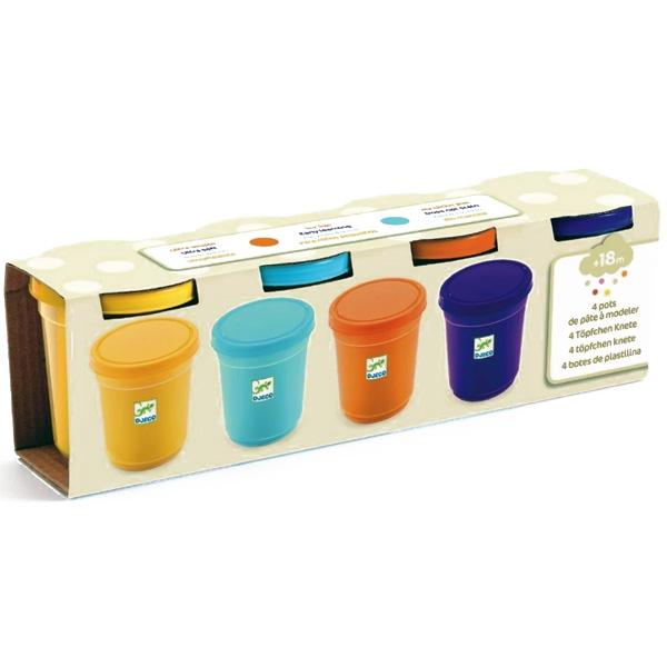 Plastilină 4 Culori Naturale (4x140g)