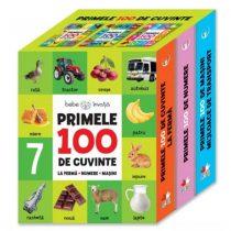 Primele 100 De Cuvinte (Cutie 3 Cărți)