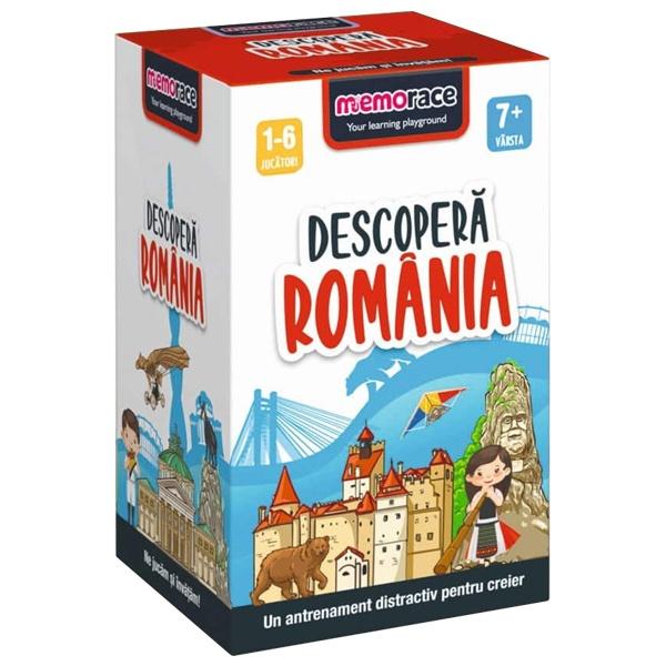 Joc De Memorie MemoRace – Descoperă România