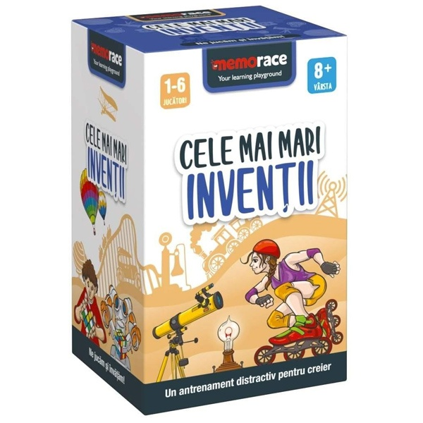 Joc De Memorie MemoRace – Cele Mai Mari Invenții