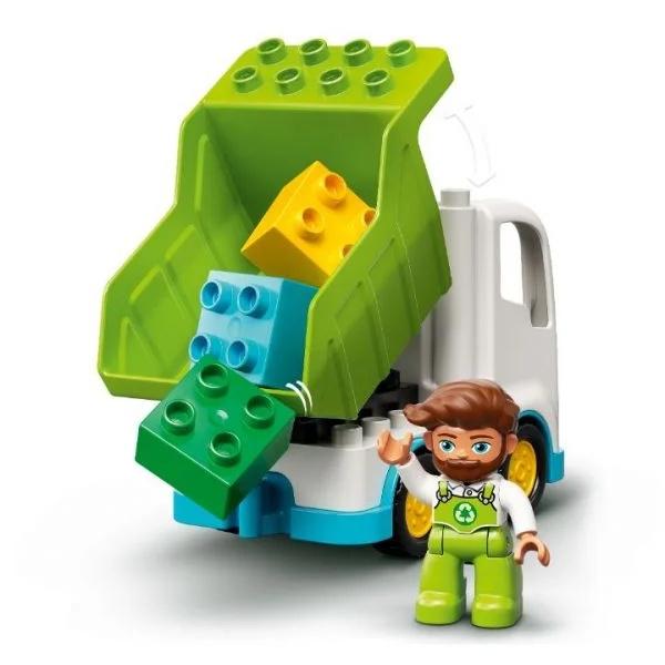 LEGO DUPLO – Camionul De Gunoi Și Recilare (Figurine3)