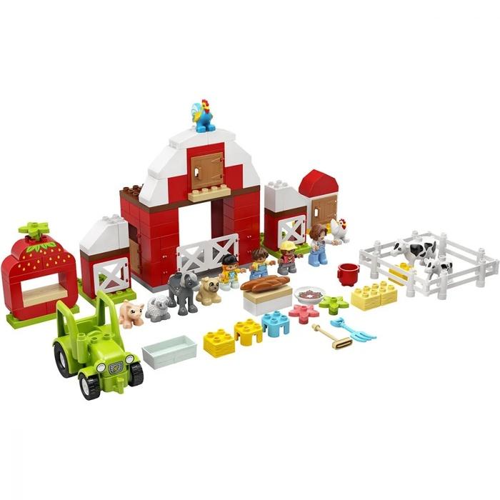 LEGO DUPLO – Hambar, Tractor Și Animale De La Fermă (2)