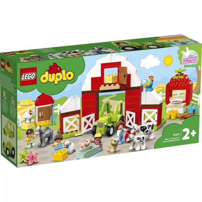 LEGO DUPLO – Hambar, Tractor Și Animale De La Fermă