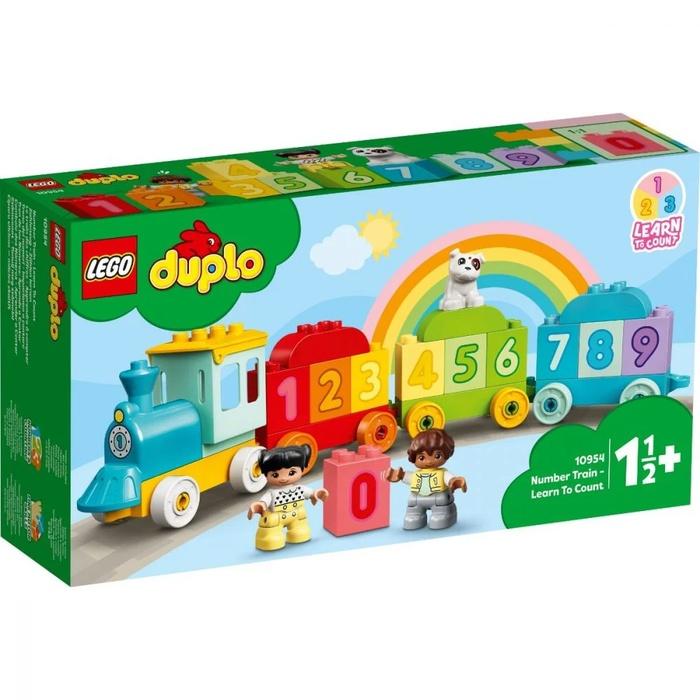 LEGO DUPLO – Trenul Cu Numere – Învaţăm Să Numărăm
