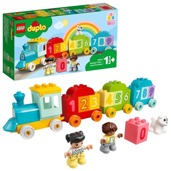 LEGO Duplo – Trenul Cu Numere – Învață Să Numeri