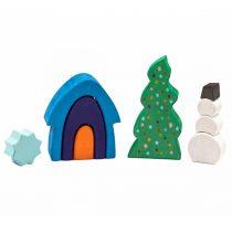 Marc Toys Jucărie Handmade Din Lemn - Poveste De Iarna